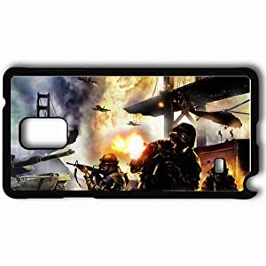 Personalized Samsung Note 4 Cell phone Case/Cover Skin Act Of War Black
