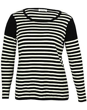 Calvin Klein Women's Striped Sweater