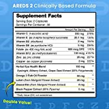 Eye Vitamins with Lutein and Zeaxanthin - AREDS 2