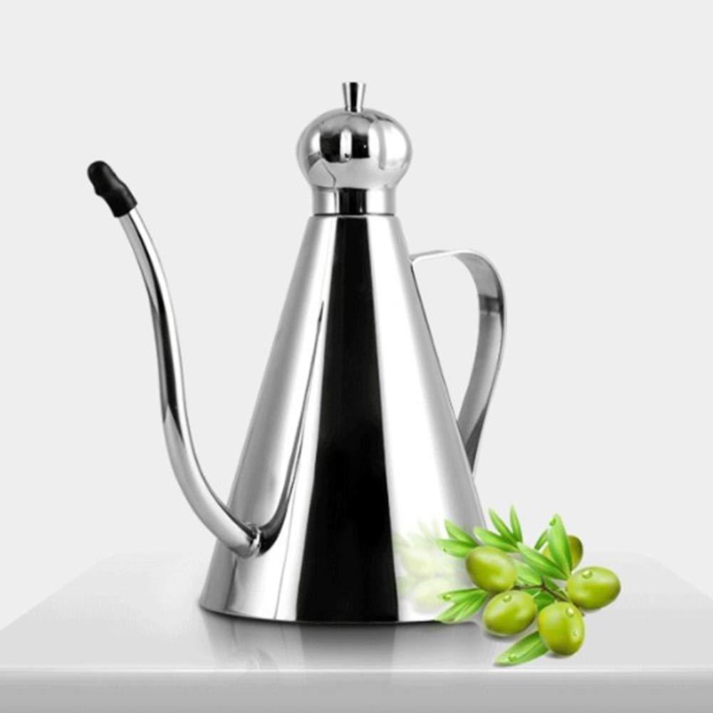 Leakproof Oil Pot Stainless Steel Olive Oil Bottle Oil Dispenser ...