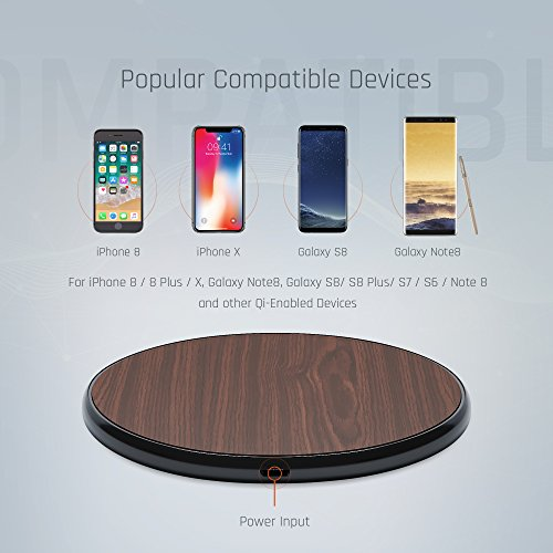 iPhone X8 Qi Wireless Charger Pad Kit by Wuteku NEW 2018