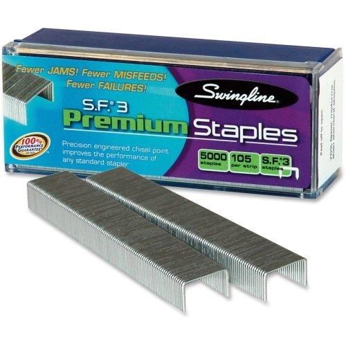 Swingline 35440 S.F. 3 Premium Chisel Point 105 Count Half-Strip Staples (Swingline Acco Brands Inc)