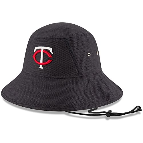 MLB Minnesota Twins 2016 Clubhouse Bucket Stretch Fit Cap, One Size, Navy ()