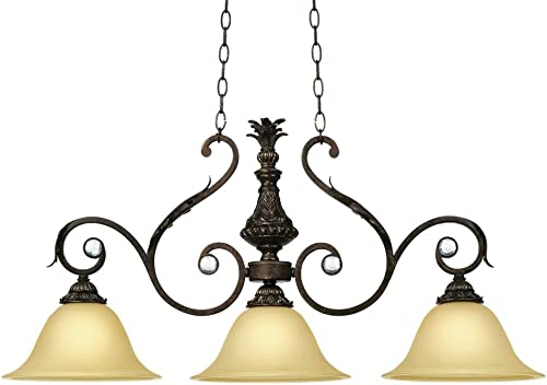 Kathy Ireland Ramas de Luces Bronze 40 Wide Chandelier