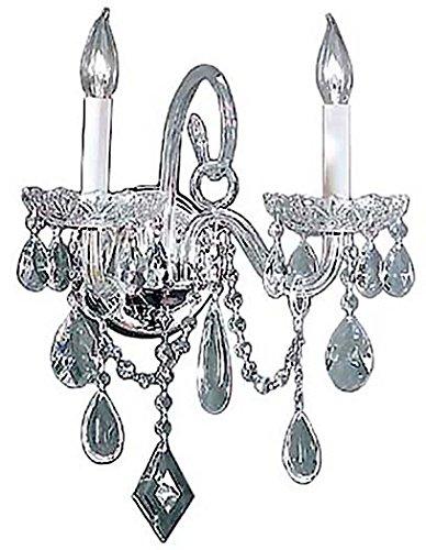 Classic Lighting 8282 CH C Prague, Crystal All Glass, Chandelier, 9