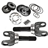 """Nitro (AXN46102-KIT) Chromoly Drive Flange Kit with Dana 50 and 60 9.49"""" Stub Axles for Ford"""