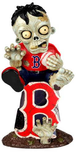 (Boston Red Sox Sitting On Logo Zombie)