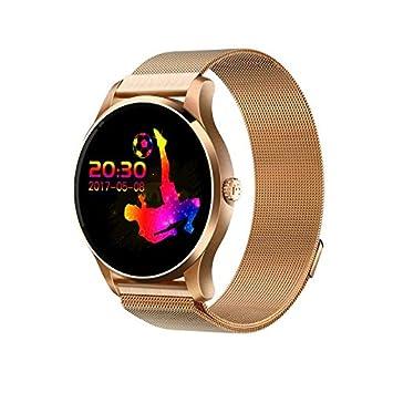 Smart Watch Mujer Reloj Inteligente Reloj Deportivo con Pulsómetros ...