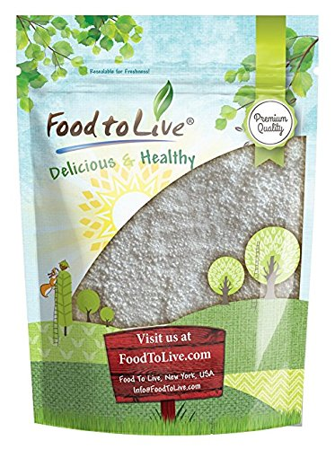 Citric Acid Powder by Food to Live (Anhydrous, Fine Granules, Food Grade Lemon Salt, Great for Cheese Making, Good for Bath Bombs, Kosher, Sour Salt in Bulk, Product of the USA) — 3 Pounds