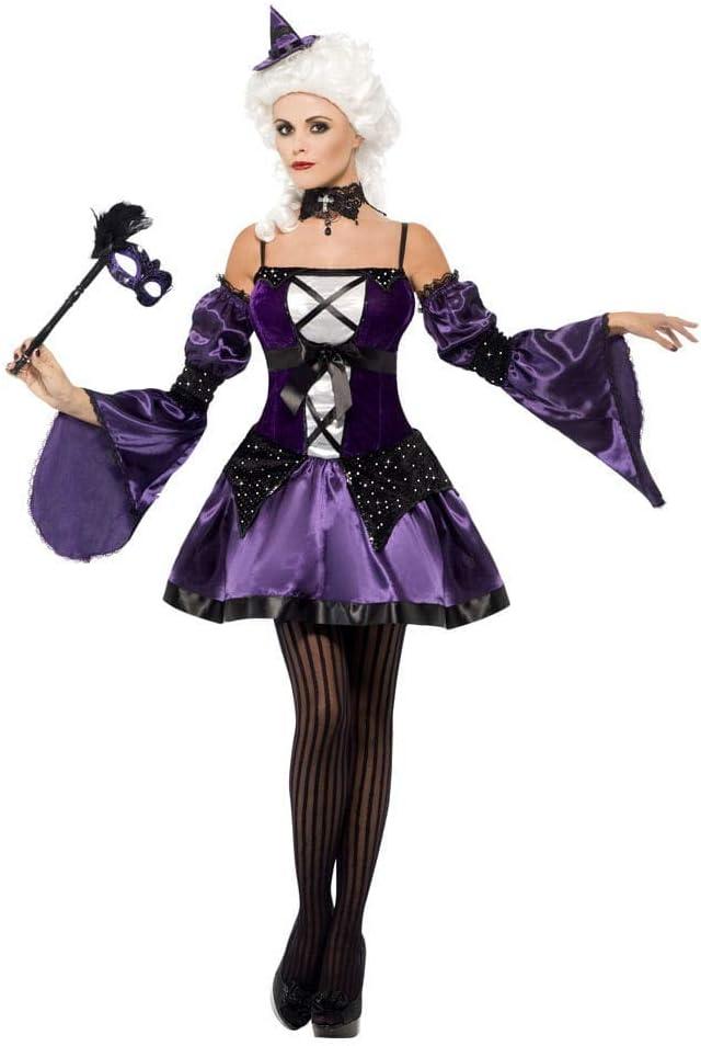 Horror-Shop Disfraz de Bruja Veneciana S: Amazon.es: Juguetes y juegos