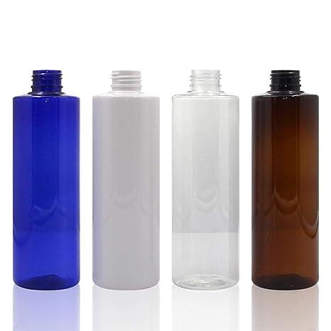 Flower205 4PCS Botella Transparente del Pet de 250ml, Botella del espray del Alto Grado del rociador del Disparador, Botella del Recorrido - para Las ...