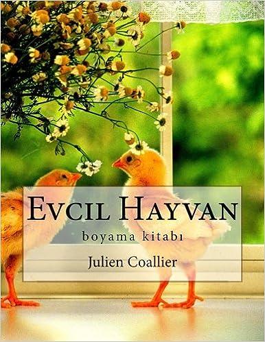 Evcil Hayvan Boyama Kitabi Turkish Edition Julien Coallier