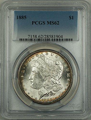 1885 No Mint Mark Morgan Dollar PCGS MS-62