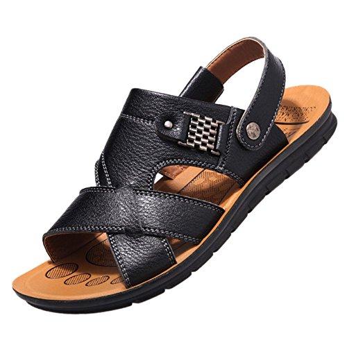 Stifai Cool Lightweight Men Sandels Summer Skidproof Sandals Black BTfrXY