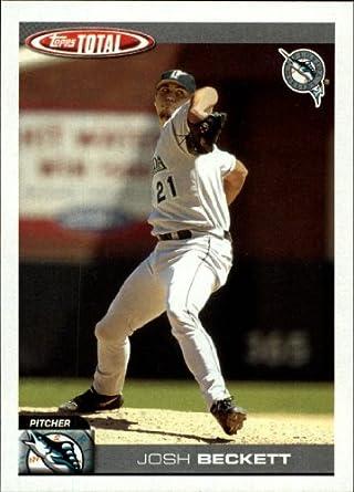 Amazoncom 2004 Topps Total Baseball Card 666 Josh Beckett
