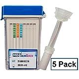 5 Panel Instant at Home Saliva Drug Test - Mouth Swab Drug Test (5 Pack) New Product Launch Sale