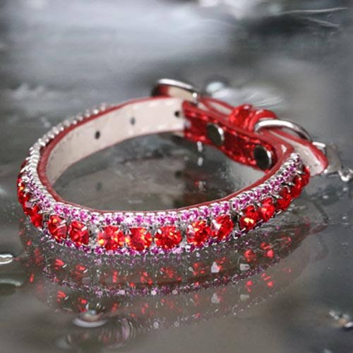 Red Ruby And Sapphire Pink Rhinestones