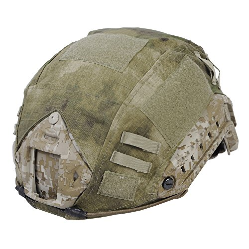 Leagway Tactical Military Combat Helmet Cover for Ops-Core Fast Ballistic Helmet, Airsoft Paintball Hunting Shooting Gear Fast Helmet Cover