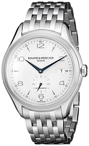 baume-mercier-mens-bmmoa10099-clifton-analog-display-swiss-automatic-silver-watch