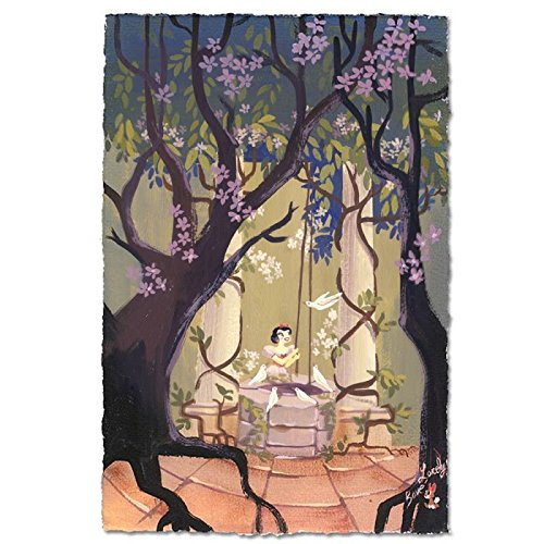 """I'm Wishing"" Limited Edition Giclee on Paper by Lorelay Bove from Disney Fine Art; Numbered, Hand Signed, with Certificate!"