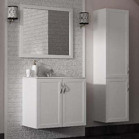 Mobili da bagno amazon cool mobile arredo bagno alfa cm disponibile in colori con specchio - Amazon mobili bagno sospesi ...