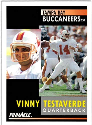 1991 Pinnacle Tampa Bay Buccaneers Team Set with Vinny Testaverde & Reggie Cobb - 7 NFL Cards