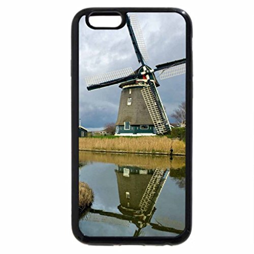 iPhone 6S / iPhone 6 Case (Black) Windmill Reflected in Melnica River