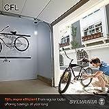 SYLVANIA CFL T2 Twist Light Bulb, 60W