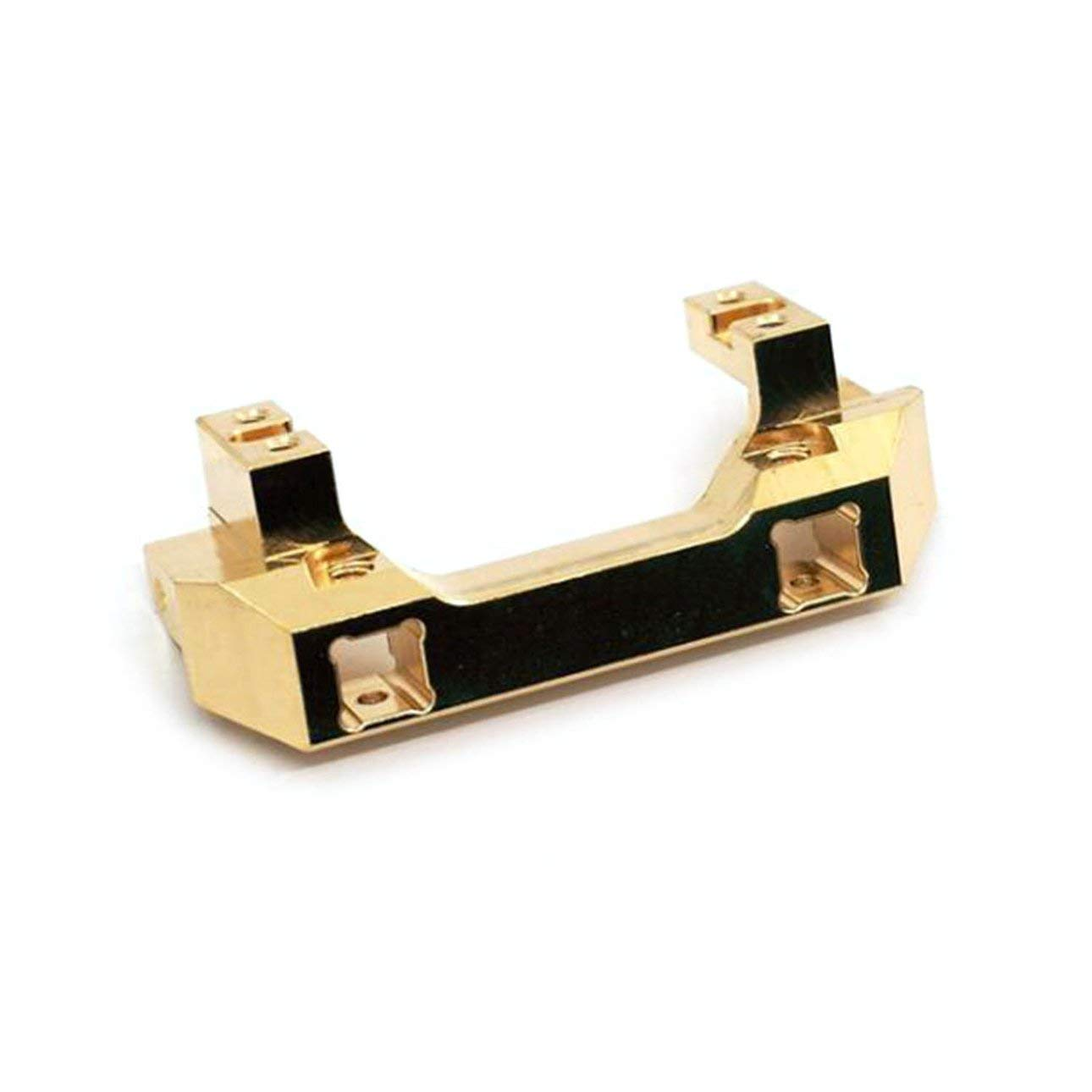 Liobaba Metal Brass Front Bumper Mount with Servo Mount for RC Traxxas TRX-4 Car