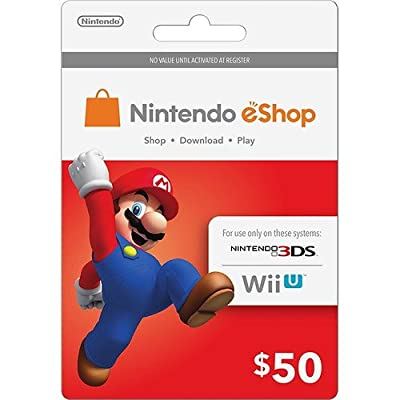 Nintendo Prepaid Card $50 [Digital Code] from Nintendo