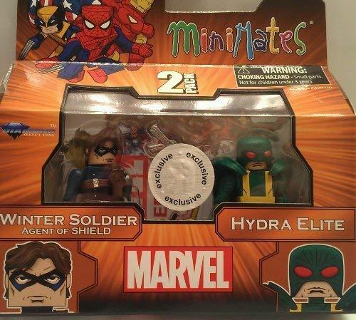 (Marvel MiniMates 2Pk - Winter Soldier & Hydra Elite)