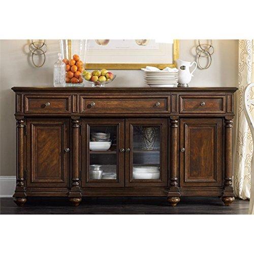 Hooker Furniture Leesburg Buffet in Mahogany
