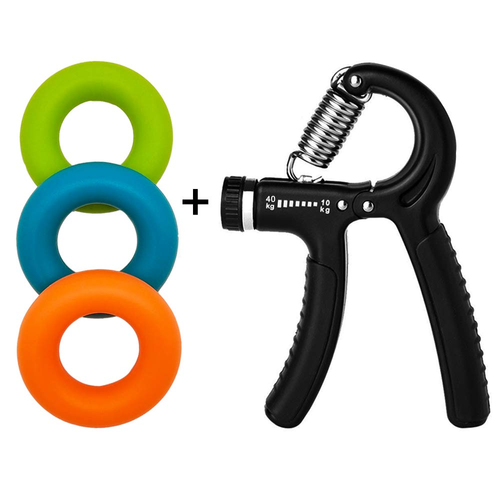 YSJ Hand Grip Strengthener Grip Strength Trainer Hand Strengthen for Hand Rehabilitation Exercising, Athletes, Pianists, Guitar Players, Students