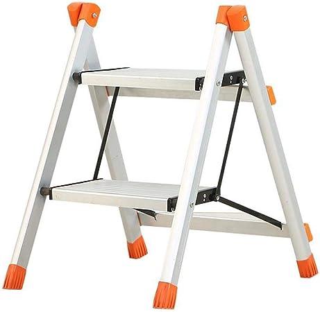 RenGuan - Escalera Plegable de Dos peldaños para Cocina (aleación de Aluminio): Amazon.es: Hogar