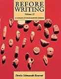 Before Writing, Vol. II: A Catalog of Near Eastern Tokens