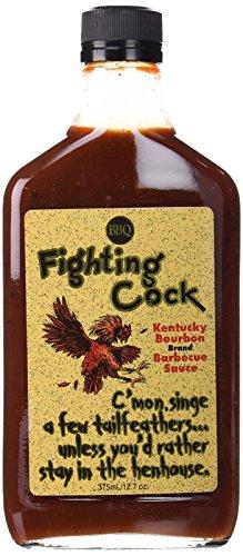 Fighting Cock Kentucky Bourbon BBQ Sauce (Gallon Size) - Food Service Size