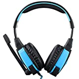 Gaming Headsets, Lifenergy USB Stereo Gaming Headphone Headset Headband with Microphone Volume Control