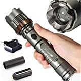 Complacency Flashlight Ultrafire Cree Color Gray, Feature 100% Brand New Cree XM-L T6 LED Adjustable Focus Torch, Size(mm) 170 x 38(bezel)/30(body), Made of high quality 6061T aluminum alloy, this flashlight is sturdy and durable enough for long time...