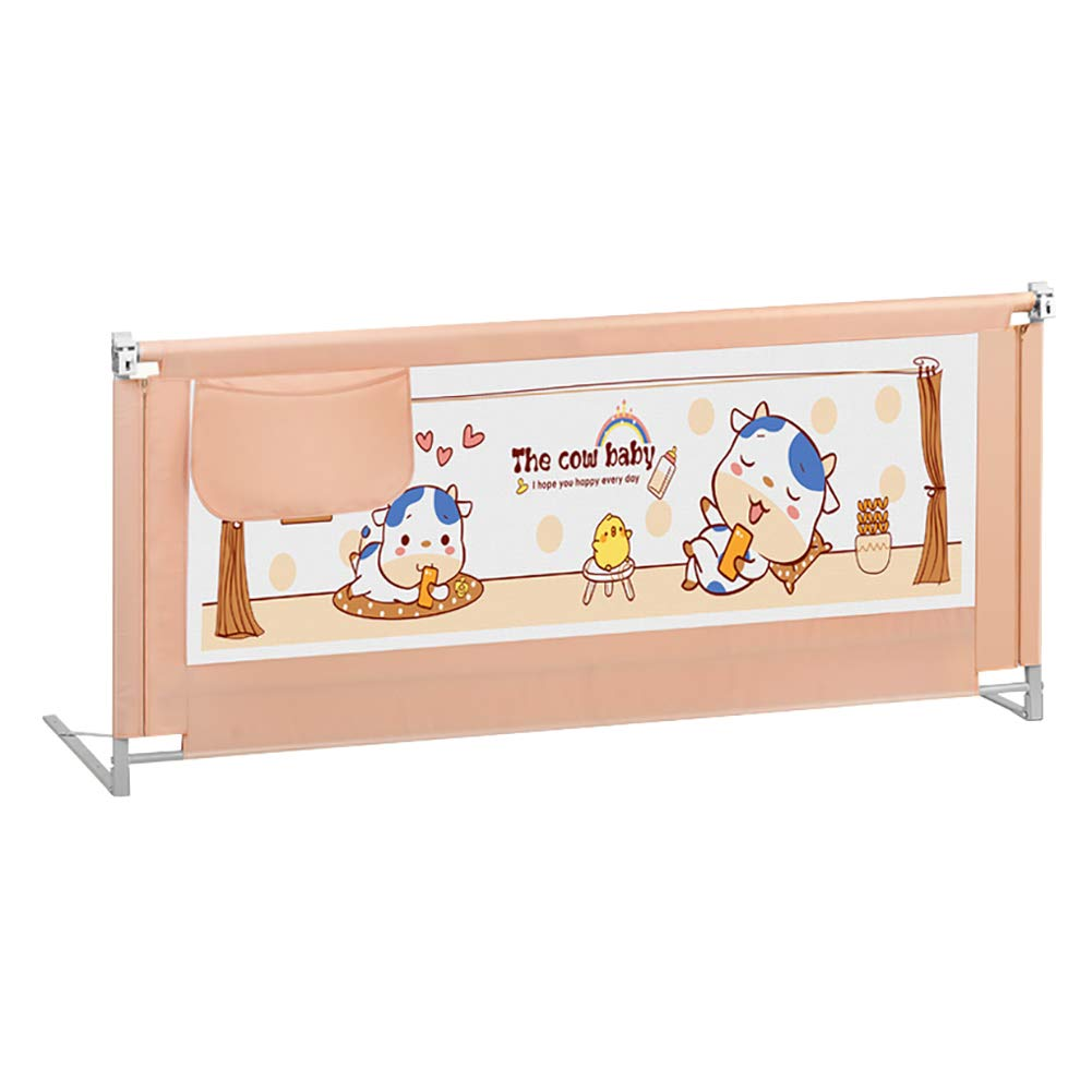 ベッドフェンス 調節可能なベビーベッドのレールの子供、余分な長い幼児のガードレール、セーフティリフティングガードレール、86センチメートルの高さ (サイズ さいず : Length 150cm) Length 150cm  B07LBD3FGD