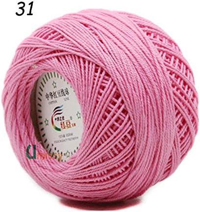 Hilo de tejer - 10 piezas 100% hilo de algodón 3# para ganchillo ...