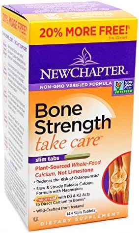 New Chapter Bone Strength Take Care Value Pack, 144 Slim Tab (2 Pack)