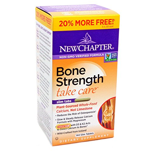(New Chapter Bone Strength Take Care Value Pack, 144 Slim Tab (2 Pack) )