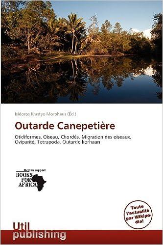 En ligne téléchargement gratuit Outarde Canepeti Re pdf, epub