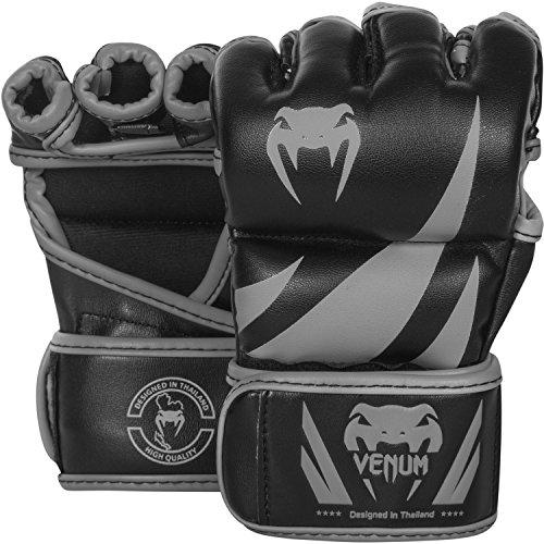 Venum Challenger MMA Gloves - Black/Grey - L/XL