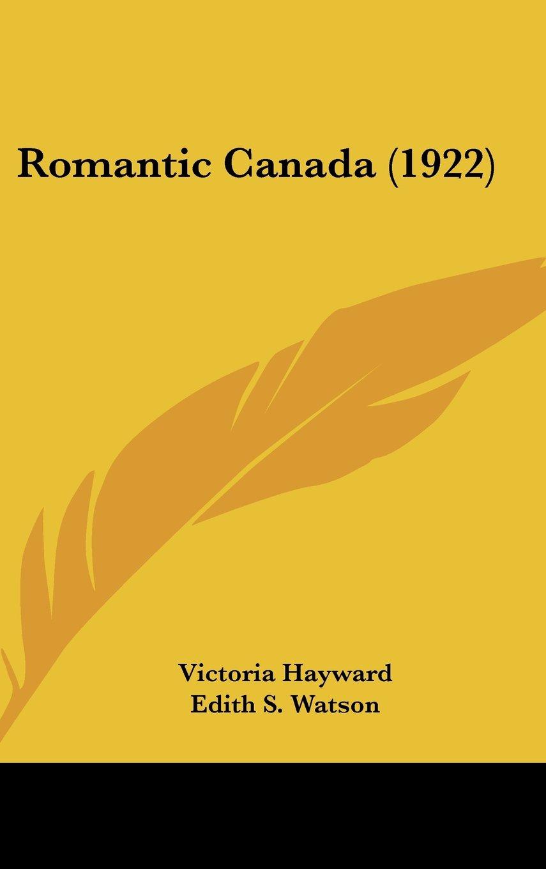 Romantic Canada (1922) pdf epub
