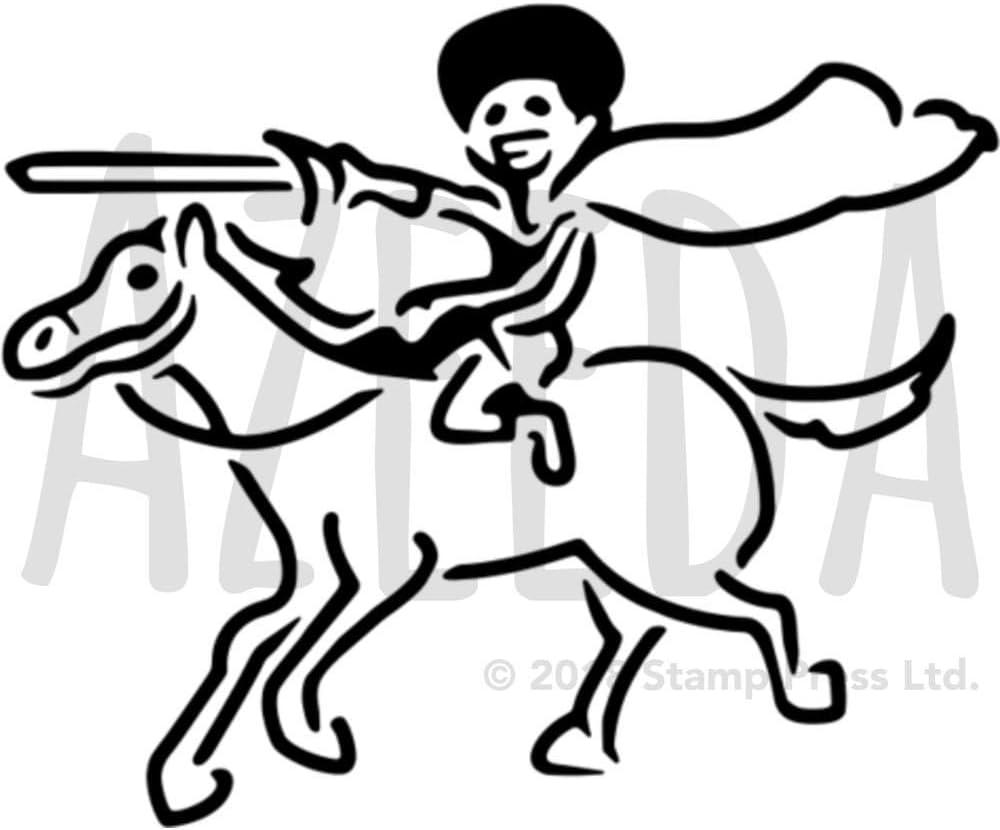 A5 Don Quijote Plantilla de Pared / Estarcir (WS00000222 ...
