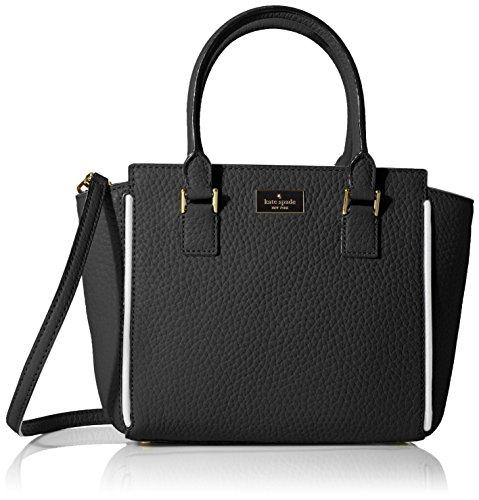 Prospect Place Small Hayden Satchel Bag, Black, One Size ()