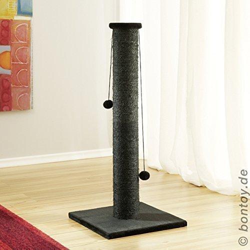 Katzen-Spiel-Stamm PAUL schwarz 90cm