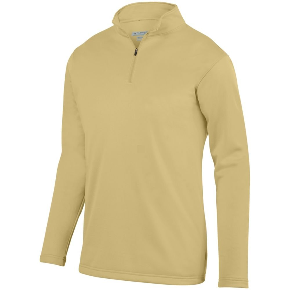 Small Vegas Gold Augusta Sports Youth Wicking Fleece Pullover