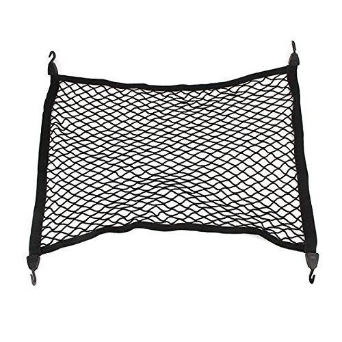 Reticulation Car Bag Net Car Storage Supplies - 75x57cm Universal Car Luggage Bag Net Elastic Nylon Storage Bag Mesh Net Hook - Cup Tea Network Cable Dish Web Elevator Udder - 1PCs by Unknown